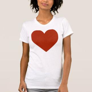 Plain Red Heart Tshirt