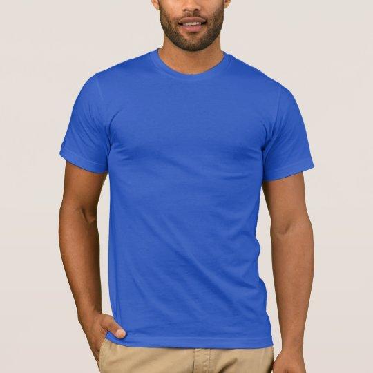 Plain Royal Blue Men's American Apparel T-Shirt