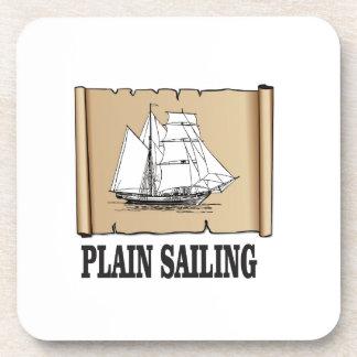 plain sailing boat coaster