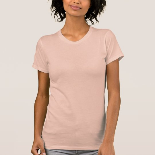 Plain salmon pink t-shirt for women, ladies | Zazzle