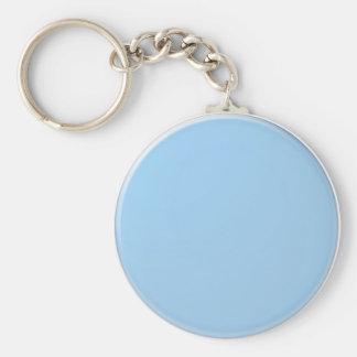 Plain Shades : Baby Blue Keychain