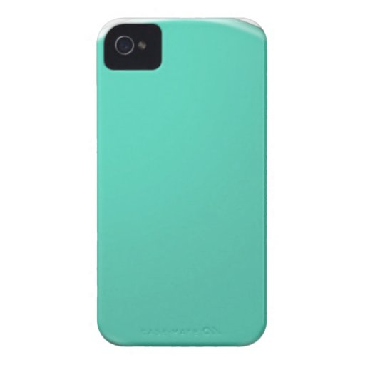 Plain Shades of Green: Add text or image iPhone 4 Covers