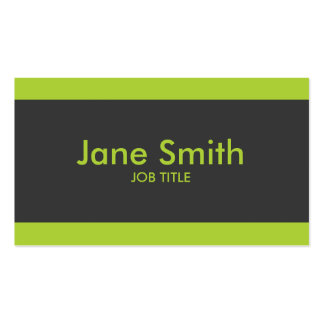 Plain Simple Modern Professional Stylish Classy Pack Of Standard Business Cards
