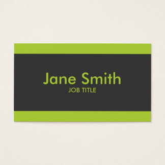 Plain Simple Modern Professional Stylish Classy Business Card