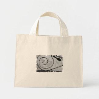 Plain Snow Spiral Bag