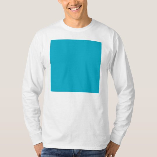 Plain Teal Background T-Shirt