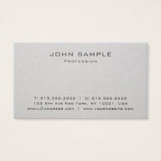 Plain Trendy Professional Premium Thick Luxury Business Card