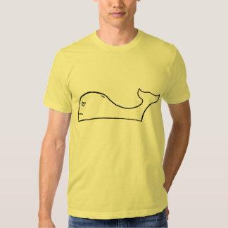 Plain Whale T Shirt