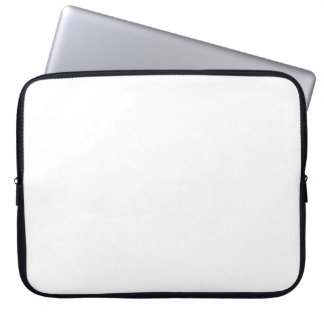 Plain White Background No Image Customize Simple Computer Sleeve