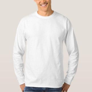 Plain White Basic Long Sleeve 2 Shirt Embroidered