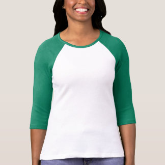 Plain white, green t-shirt for women, ladies
