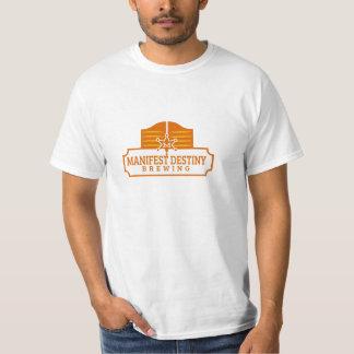 Plain White Logo Tshirt