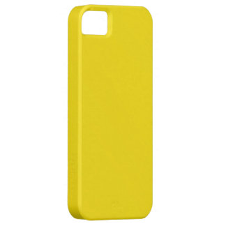 Plain Yellow Background iPhone SE/5/5s Case