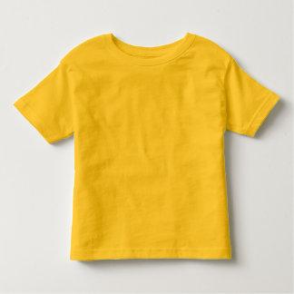 Plain yellow toddler t-shirt for kids