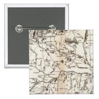 Plaine de Montbrison Pinback Button