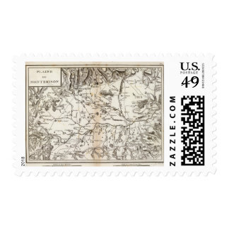 Plaine de Montbrison Postage Stamp