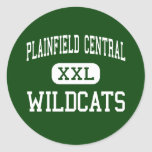 Plainfield Central - Wildcats - High - Plainfield Round Stickers