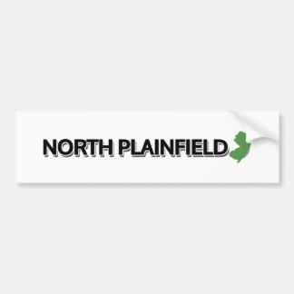 Plainfield del norte, New Jersey Pegatina Para Auto