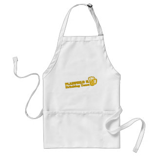 Plainfield Drinking Team tee shirts Apron