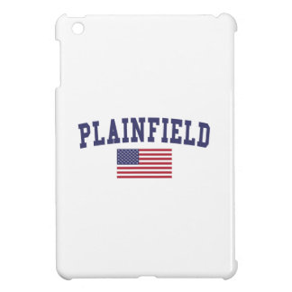 Plainfield IL US Flag iPad Mini Cover