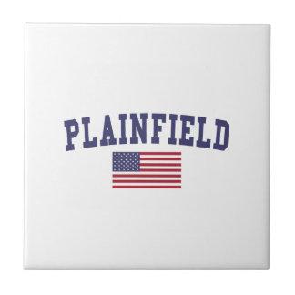 Plainfield IL US Flag Tile