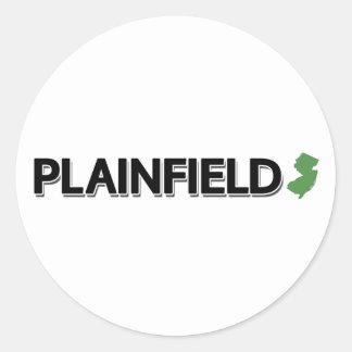 Plainfield, New Jersey Classic Round Sticker