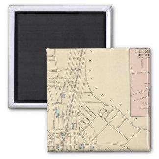 Plainfield, NJ 2 Inch Square Magnet