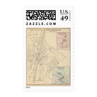 Plainfield, NJ Postage Stamp
