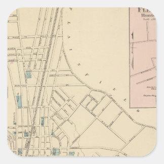 Plainfield, NJ Square Sticker