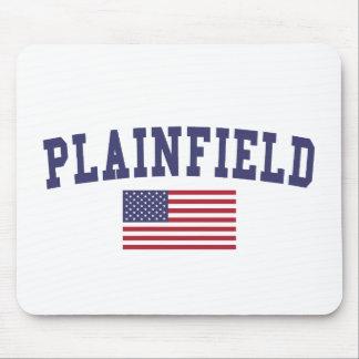 Plainfield NJ US Flag Mouse Pad