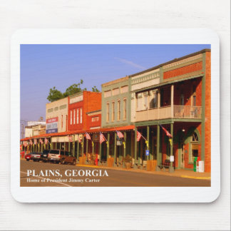 PLAINS, GEORGIA - Home of President Jimmy Carter Mousepads