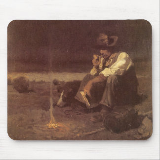 Plains Herder by NC Wyeth, Vintage Western Cowboys Mouse Pad