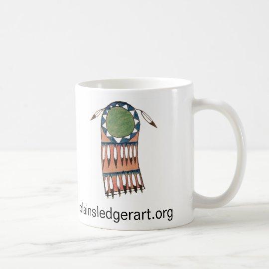 Plains Indian Ledger Art  Publishing Project Coffee Mug