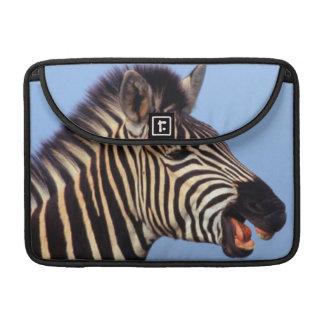 Plains Zebra (Equus Quagga) Calling MacBook Pro Sleeves