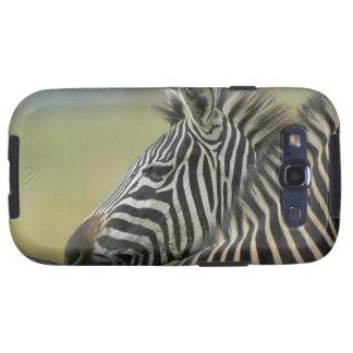 Plains Zebra (Equus quagga) pair, Haga Game Galaxy SIII Case