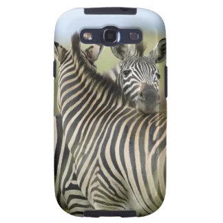 Plains Zebra (Equus quagga) pair, Haga Game Samsung Galaxy SIII Case
