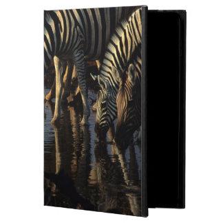 Plains Zebras (Equus Quagga) Herd Drinking Cover For iPad Air