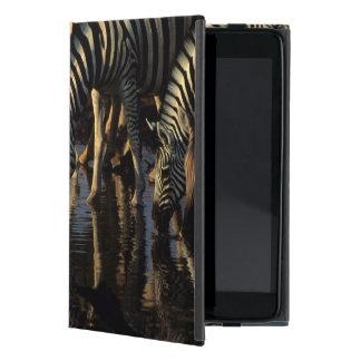 Plains Zebras (Equus Quagga) Herd Drinking Cover For iPad Mini