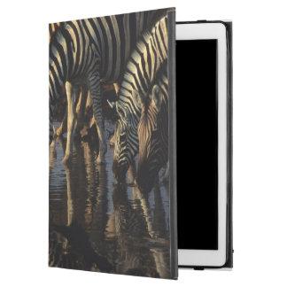 """Plains Zebras (Equus Quagga) Herd Drinking iPad Pro 12.9"""" Case"""