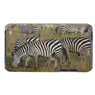 Plains Zebras on migration, Equus quagga, 3 iPod Case-Mate Case
