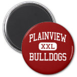 Plainview - Bulldogs - High - Plainview Texas Refrigerator Magnets