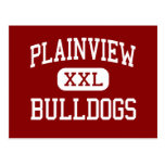 Plainview - Bulldogs - High - Plainview Texas Post Cards