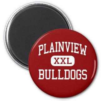 Plainview - dogos - alto - Plainview Tejas Imán Redondo 5 Cm