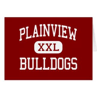 Plainview - dogos - alto - Plainview Tejas Tarjeta De Felicitación