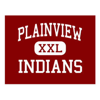 Plainview - Indians - High - Ardmore Oklahoma Postcard
