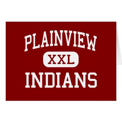 Plainview - indios - centro - Ardmore Oklahoma Felicitacion