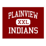 Plainview - indios - centro - Ardmore Oklahoma Tarjeta Postal