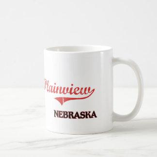 Plainview Nebraska City Classic Classic White Coffee Mug