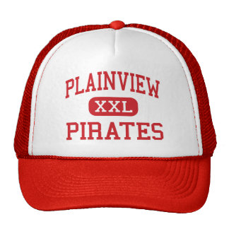 Plainview - piratas - alto - Plainview Nebraska Gorros Bordados