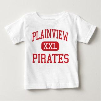 Plainview - piratas - alto - Plainview Nebraska Camiseta